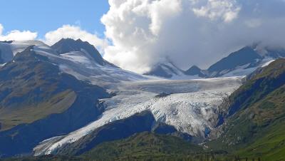 Worthington-Gletscher, Alaska