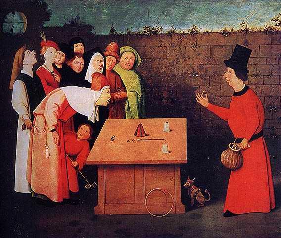 Hieronymus Bosch: Der Taschenspieler