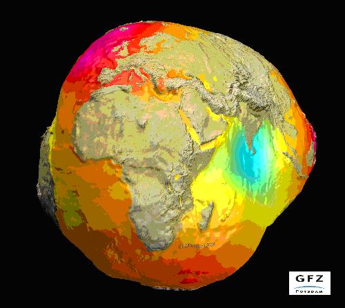 Erde Umfang